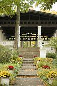 Chautauqua Institution National Historic Landmark building poster