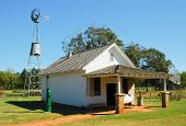 picture of jimmy  - Jimmy Carter National Historic Site  farm building - JPG