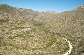 picture of stagecoach  - mckittrick canyon mountains - JPG