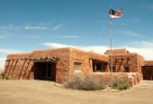 image of paleozoic  - Painted Desert Visitor Center - JPG