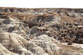 stock photo of paleozoic  - desert badlands - JPG