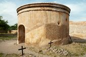 pic of 1700s  - Tumacacori National Historical Park spanish mission ruins - JPG