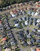 Aerial View Of New Residential Development In The Western Area Of Newcastle Australia. With A Growin poster