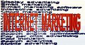 online marketing terminologies poster