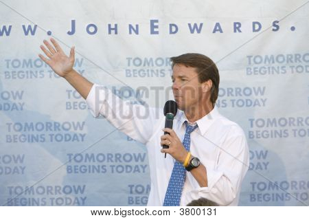 John Edwards Rally