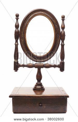 Fancy Antique Mirror
