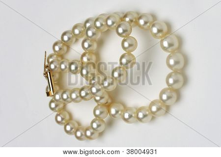 Pearl Necklace Of White