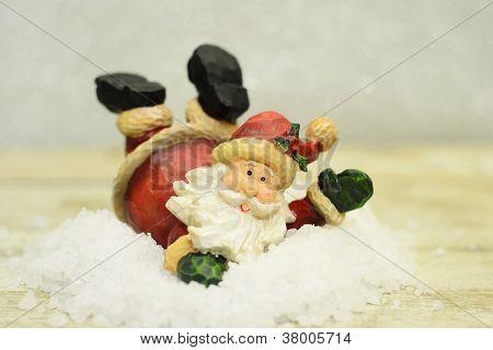 Jolly Santa Claus...