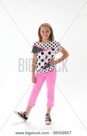 Ten Year Old Girl