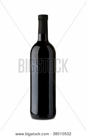 Bordeaux Wine Bottle