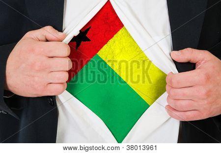The Guinea-Bissau Flag