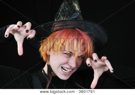 Red-Hair Witch Scare You