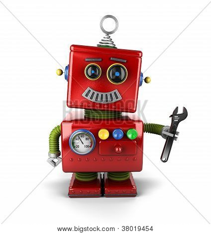 Toy Mechanic Robot