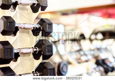 Dumbell at it places