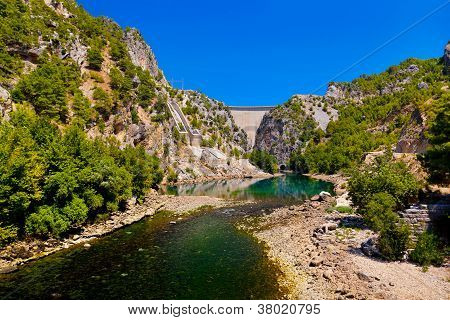 Green Canyon At Turkey