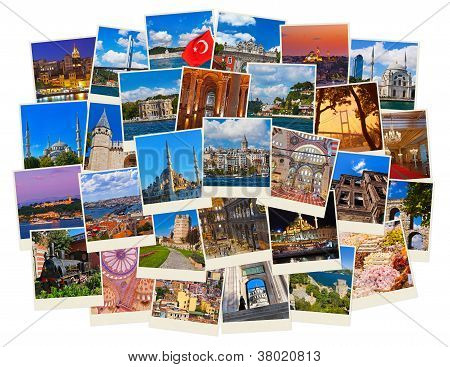 Stack Of Istanbul Turkey Travel Images
