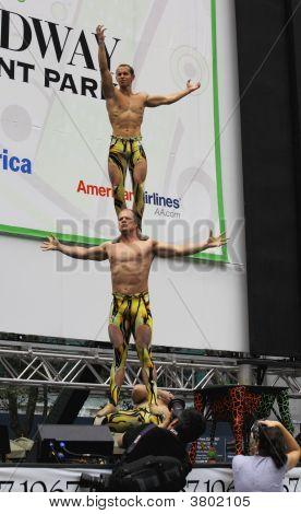 The Cast Of  Cirque Dreams Jungle Fantasy
