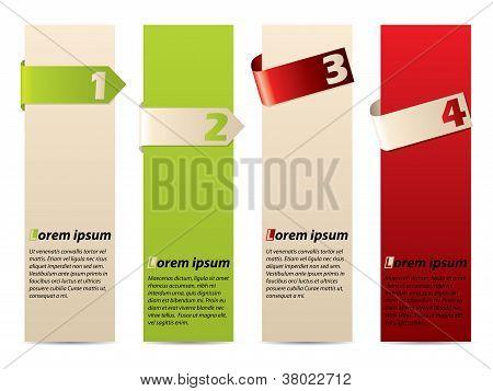 Discrete Advertising Label Set