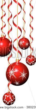 Banderolas y adornos de Navidad