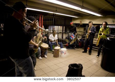 Subway Performers