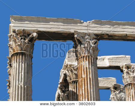 Detail: Temple Of Olympian Zeus