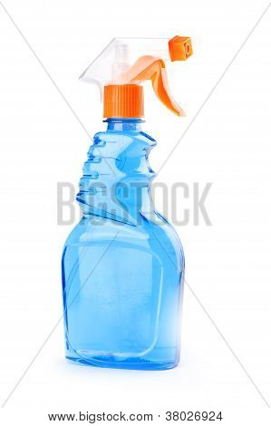 Bottle Of Window Cleaner