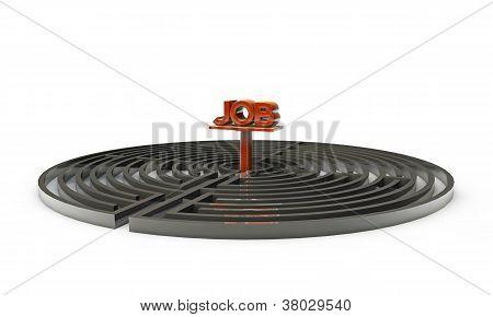 Laberinto circular