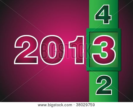 New Year counter 2012-2013