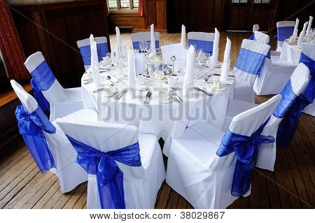 Table At Wedding Reception