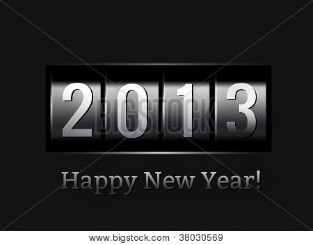 New Year counter 2013