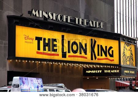 The Lion King Sign