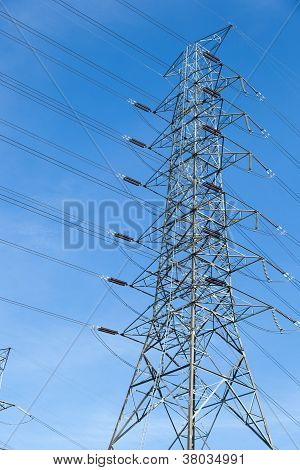 High Voltage Towers.