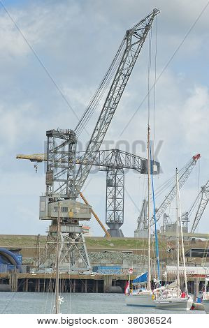 Cranes In The Dockyard