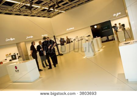 B W At Photokina 2008 Interior