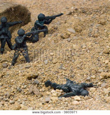 Desert Firefight