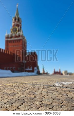Red Square At Kremlin Moscow