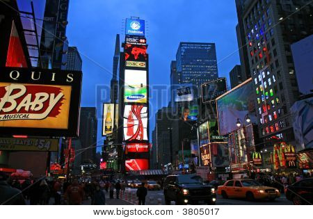 Das Times Square in New York