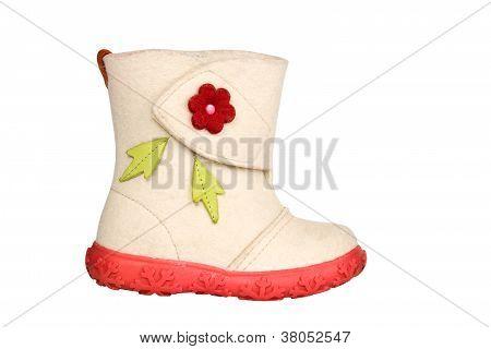 Children's Felt Boot
