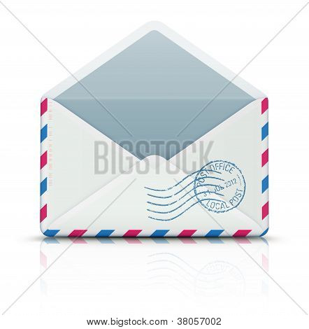 Airmail Post Envelope