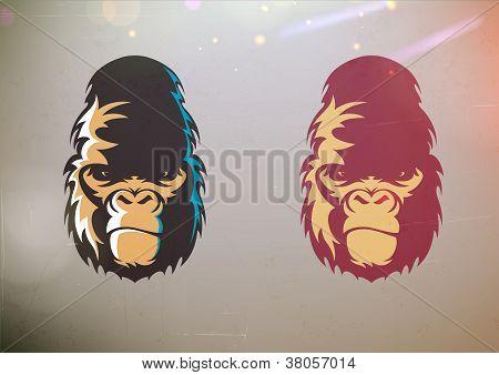 Gorila Smirk cara