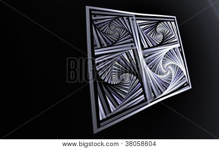 3d Escher Like Spiral Board