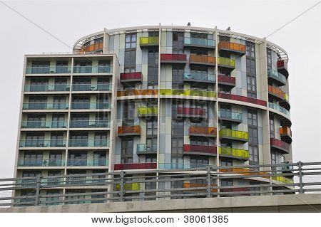Colourful Abstract Building