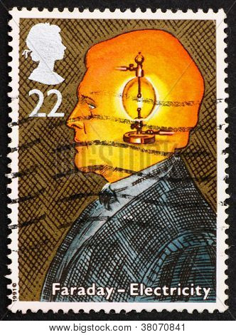 Postage Stamp Gb 1991 Michael Faraday, Electricity
