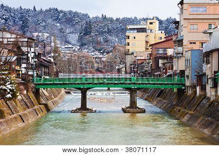 Yanagibashi Bridge of Takayama