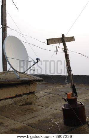 Different Television Antenna Generations.