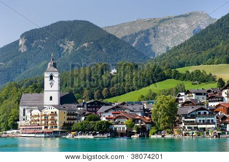 Town Of St. Wolfgang