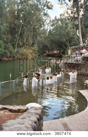 Baptisms In The Jordan River