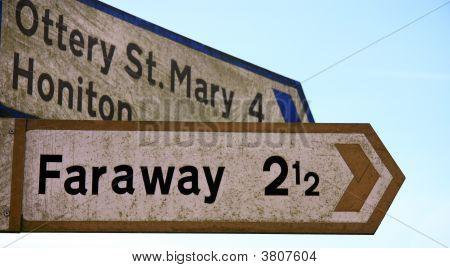 How Far Away Is Faraway ?