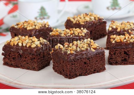 Nutty Fudge Brownies