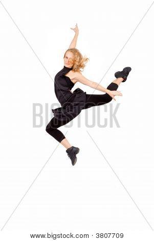 Woman Exercising Or Dancing